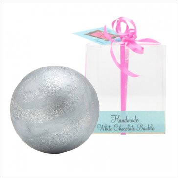 hn silver bauble