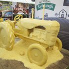 Life Size Cheese Tractor for Lidl Ireland