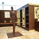 Chocolate Walk in Wardrobe made from 350kg Chocolate in Adelaide