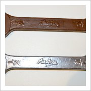 Chocolate Spanners Design 1 Silver