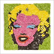 Chocolate Marilyn Monroe - Pop art